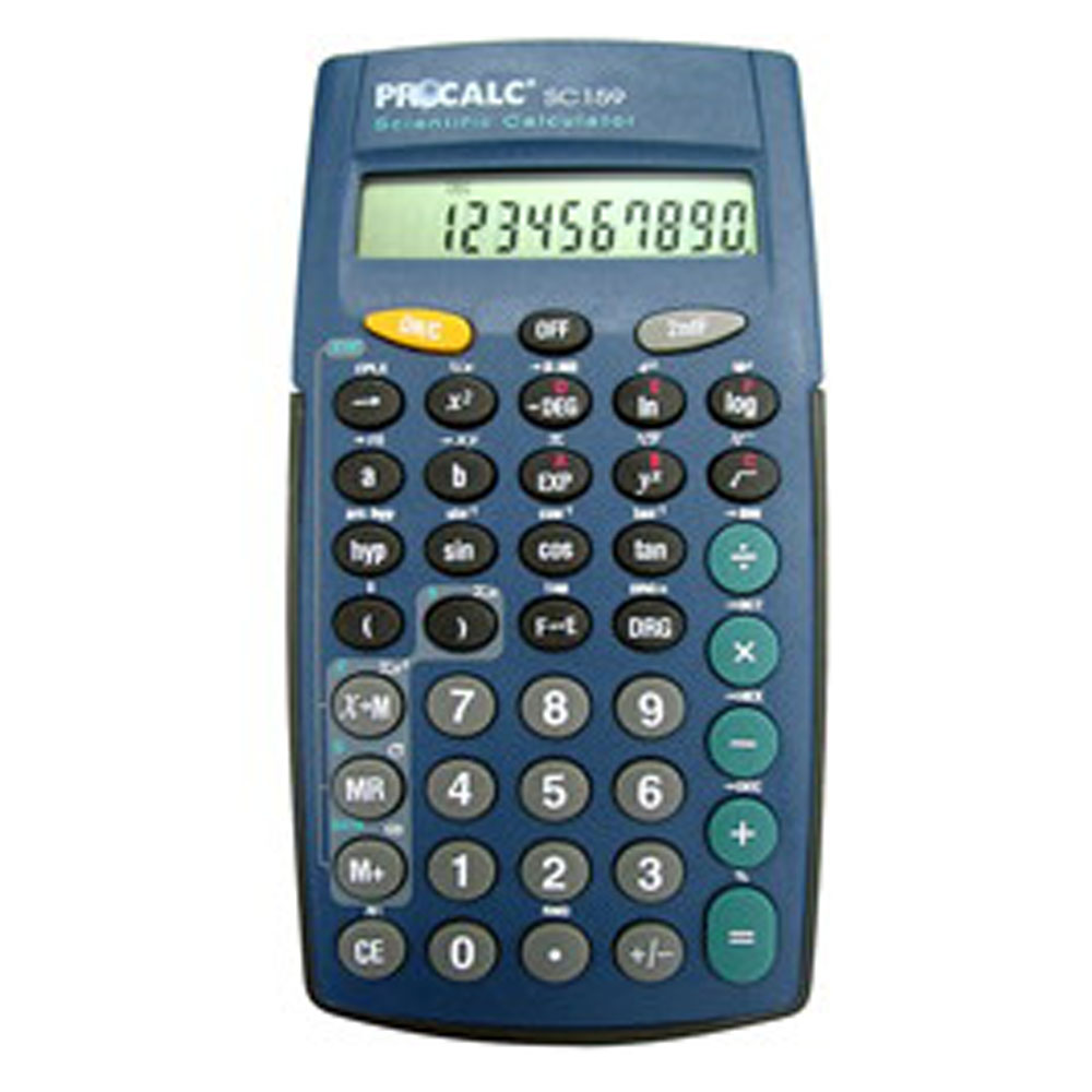 Calculadora Científica Procalc Sc 159