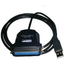 Cabo Conversor para MECAF 1PAG-USB - Converte USB para saída paralela DB25