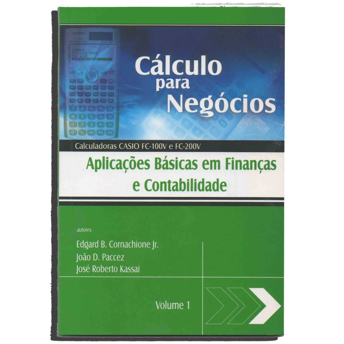 Livro Cálculo Negócios para Calculadora Casio FC-100V e FC-200V