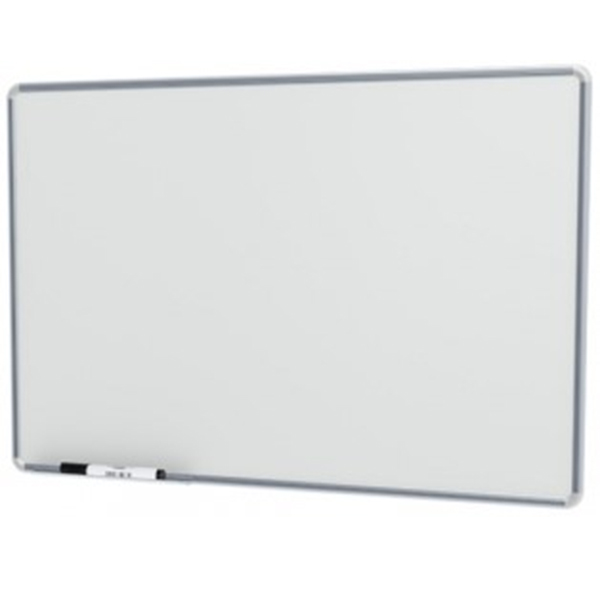 Quadro Branco Stalo 60x90cm Não Magnético com Moldura de Alumínio