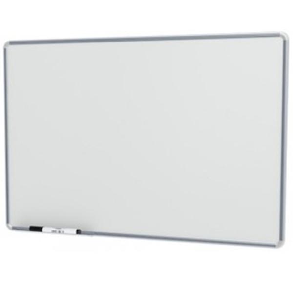 Quadro Branco Stalo Não Magnético Popular Free 90x120cm Moldura de Alumínio