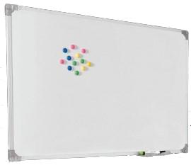 Quadro Branco Stalo Magnético Office 90x120cm Moldura de Alumínio 10501