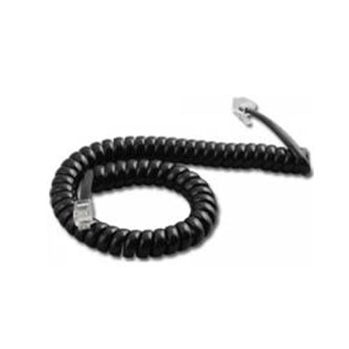 Cabo para Telefone Espiral Monofone Multitoc 1,8 Metros Preto