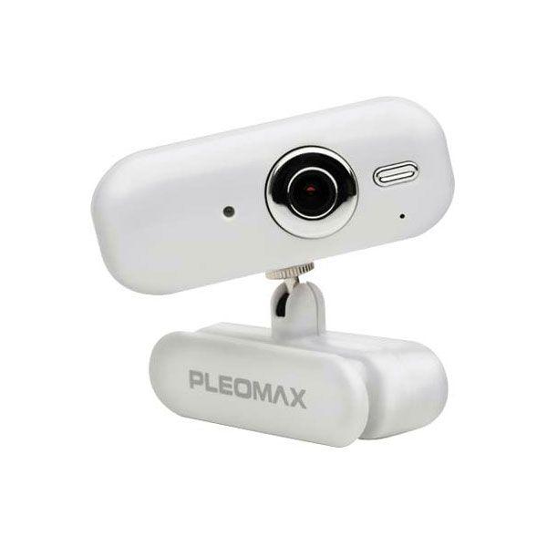 Webcam Samsung Pleomax Pwc3800W C/Microfone 300K Vga Usb Branco