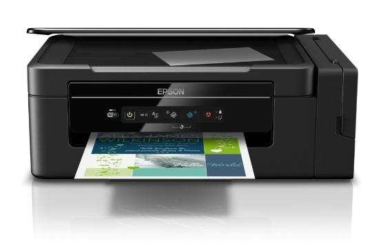 Impressora  Multififuncional Jato de Tinta Epson L395 Ecotank