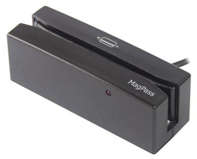 Leitor de Cartão Magnético Cis Techmag Magpass Mpii-S180 9080-Usb 3 Trilhas