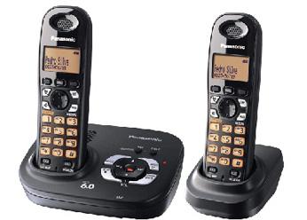 Telefone sem Fio Panasonic Kx-Tg 6392