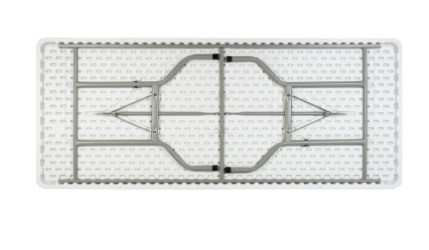 Mesa Retangular Dobrável Duratec MRT183 1,83M