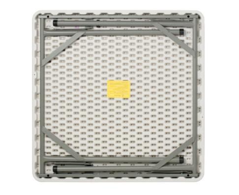 Mesa quadrada dobrável Duratec MQD086 86 x 86 cm