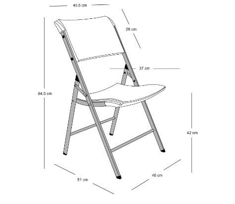 Cadeira Dobrável Duratec Pro