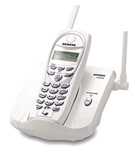 Telefone sem Fio Siemens A5500 Branco 900 Mhz Identificador e 40 Canais