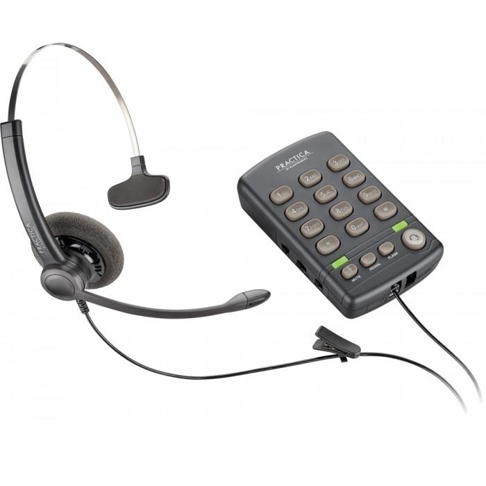 Headset com Teclado Plantronics T-110