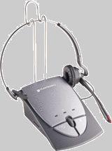 Headset Duoset com Amplificador Plantronics S-12