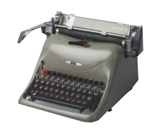 Máquina de escrever manual profissional Olivetti Lexicon 80 Semi-novo