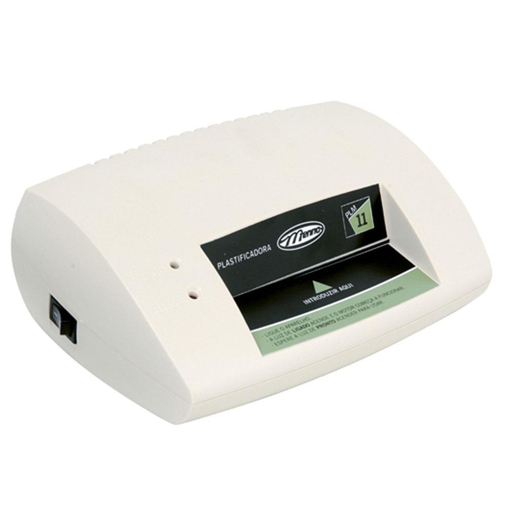Plastificadora Menno Plm11 110v inserção até 11 cm 250 micras