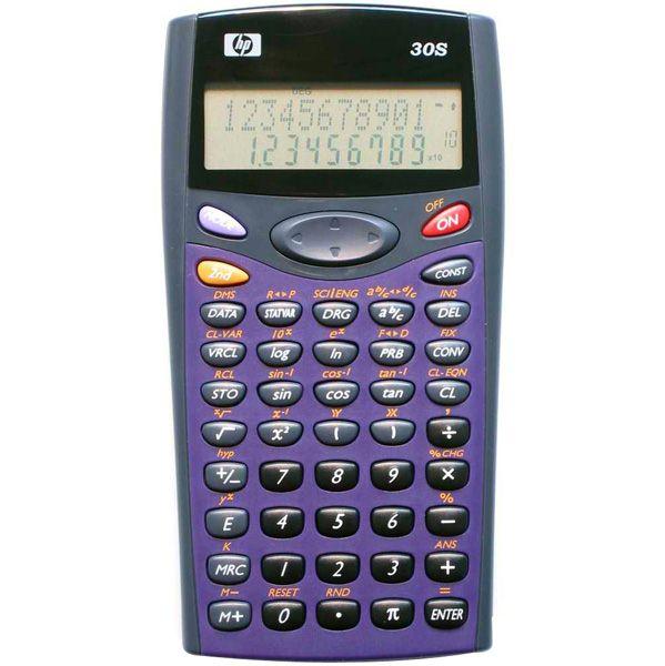 Calculadora Científica Hp-30S