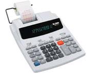 Calculadora com bobina Elgin Mr 6124 Bivolt bicolor 2,4Lps 12 Dígitos Visor Fluorescente