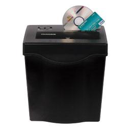 Fragmentadora ELGIN FC 7121 110V corta cds, cartões de crédito, até 12 folhas em tiras de 6,4mm, fenda 220mm, cesto 13lts