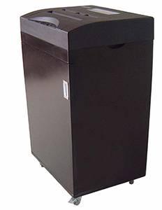 Fragmentadora de Papel COMIX 621/611 110V, corta 25 folhas em partículas de 4 x 40 mm,cartão,cd,clips,cesto de > 100 litros  Saco plástico ou 80 litros container com uso contínuo