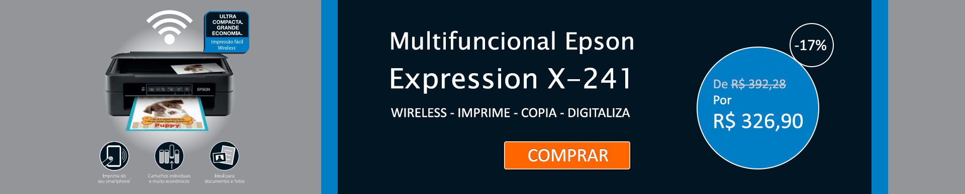 Multifuncional Epson Expression X-241