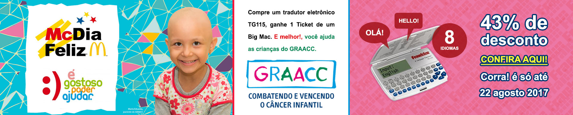 Mc Dia Feliz - GRAACC - Franklin TG115