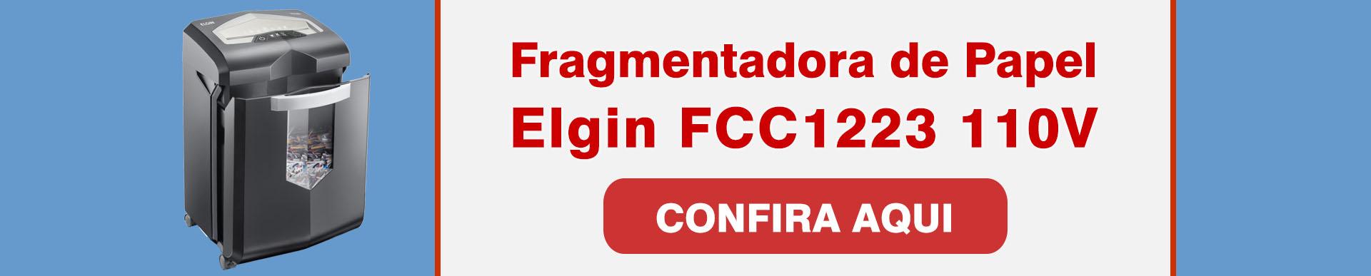 Fragmentadora de Papel Elgin FCC1223
