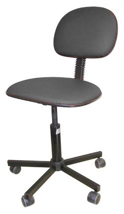 Cadeira Digitadora- MULTIVISÃO Preto