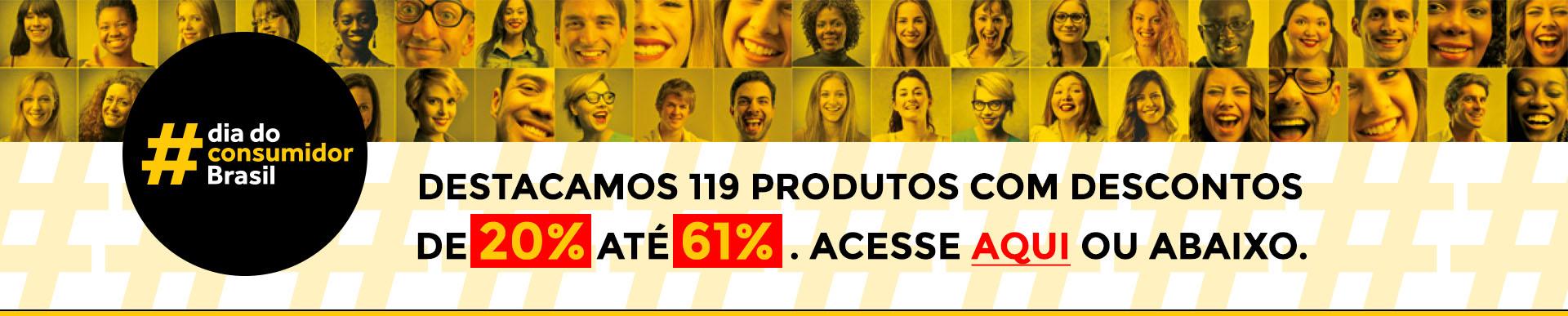 #diaconsumidor 2018 - até 61% de desconto