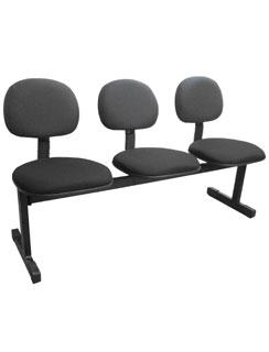 Cadeira Longarina Digitadora Multivisão Preto
