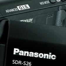 Filmadora Digital Panasonic Sdr-S26Pu-K