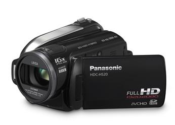 Filmadora Digital Panasonic HDC-HS20PU-K
