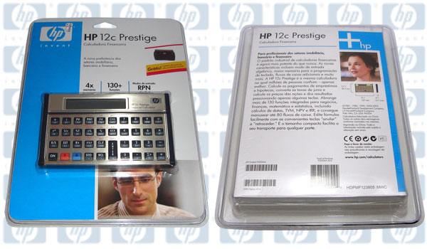 Calculadora Financeira Hp-12C Prestige