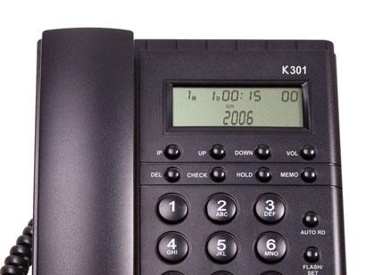 Telefone com Fio Keo 301 Identificador 16 Campainhas Agenda Memórias Programável Relógio
