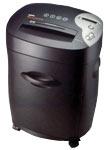 Fragmentadora de Papel SECURITY 160 MC - Corta 15 folhas ou CC/CD em partículas de 4 x 25 mm, fenda 230 mm, cesto de 35 litros, visor indicativo, ruído 60db