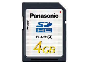 Cartão de Memória Panasonic Rp-Sdp-04Gu1K