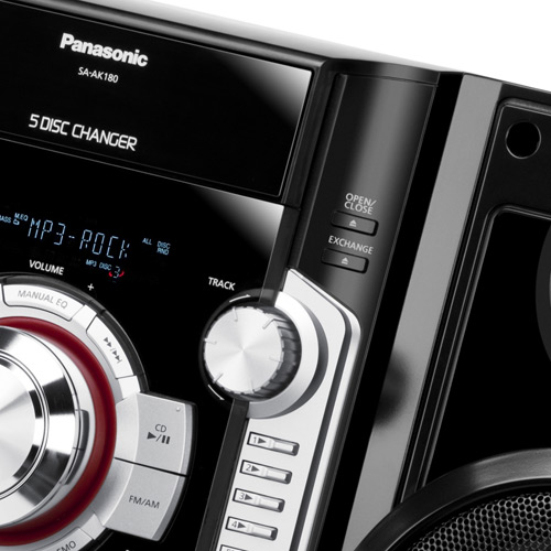 Mini System Panasonic Sc-Ak181Lb-K
