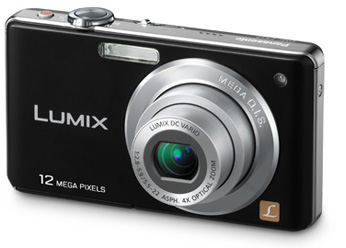 Camera Digital Panasonic Lumix Dmc Fs12Lb K/P