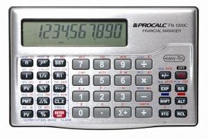 Calculadora Financeira Procalc FN1200C - Calculadora Financeira RPN