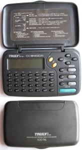 Agenda eletrônica Truly MD168 (Cod: 1753)