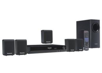DVD THEATER SYSTEM - Panasonic SC-PT75LB-K