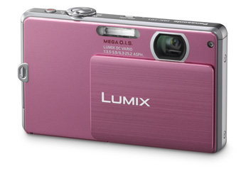 Câmera Digital Panasonic Dmc-Fp1Lb-Pa Rosa