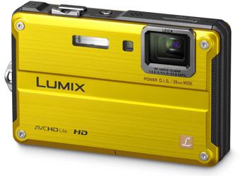 Câmera Digital Panasonic Lumix Dmc-Ts2Pu-A