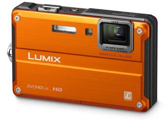 Câmera Digital Panasonic Lumix DMC-TS2PU-D