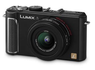 Câmera Digital Panasonic Lumix Dmc-Lx3Pl-K
