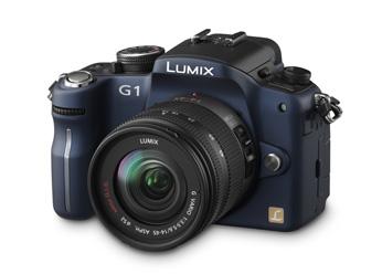 Câmera Digital Panasonic LUMIX - DMC- G1KPP-A