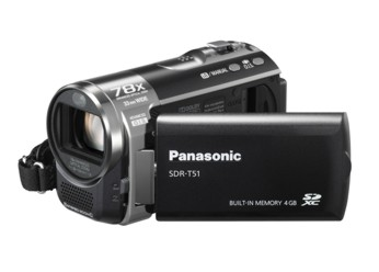 Filmadora Digital Panasonic Memory Flash Sdr-T51Pu-K 4gb