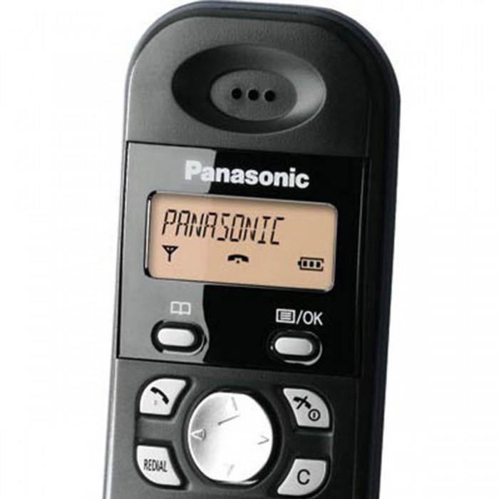 f3baf2107 ... Telefone sem Fio Panasonic Dect 6.0 Kx-Tg1381Lbh-Bk - EscritórioTotal  ...