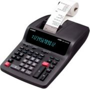 Calculadora Casio DR-120TM-BK 220v Preta Visor e Impressora 12 dígitos, 3.5 linhas por segundo