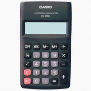 Calculadora de Bolso Casio Hl-815L-Bk-S4-Dp Preta