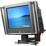 Suporte para TV CRT de 21´´ a 34´´ + DVD ou Acessório Multivisão PV30 Preto